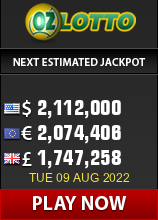 Oz Lotto Jackpot