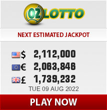 Play and win on the Oz Lotto