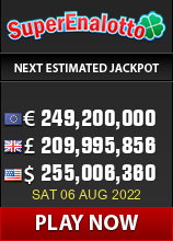 Italian SuperEna Lotto Jackpot