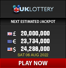 PlayUKlottery.com - win up to 42 million Pounds